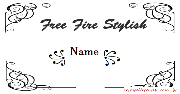 Free Fire Stylish Name