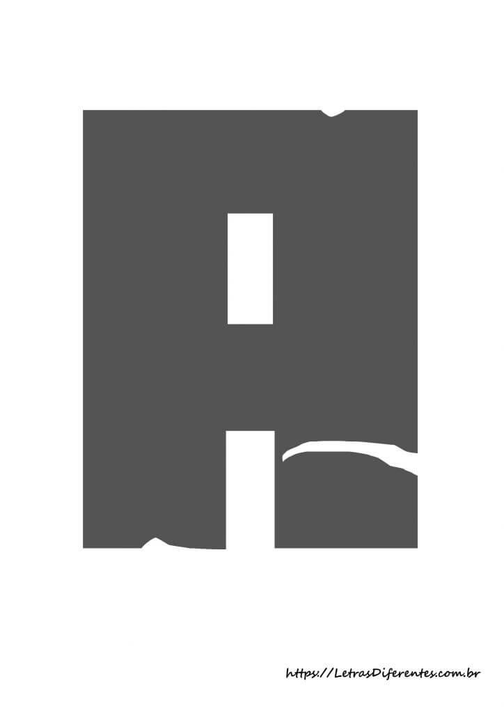 alfabeto letras a minecraft para imprimir