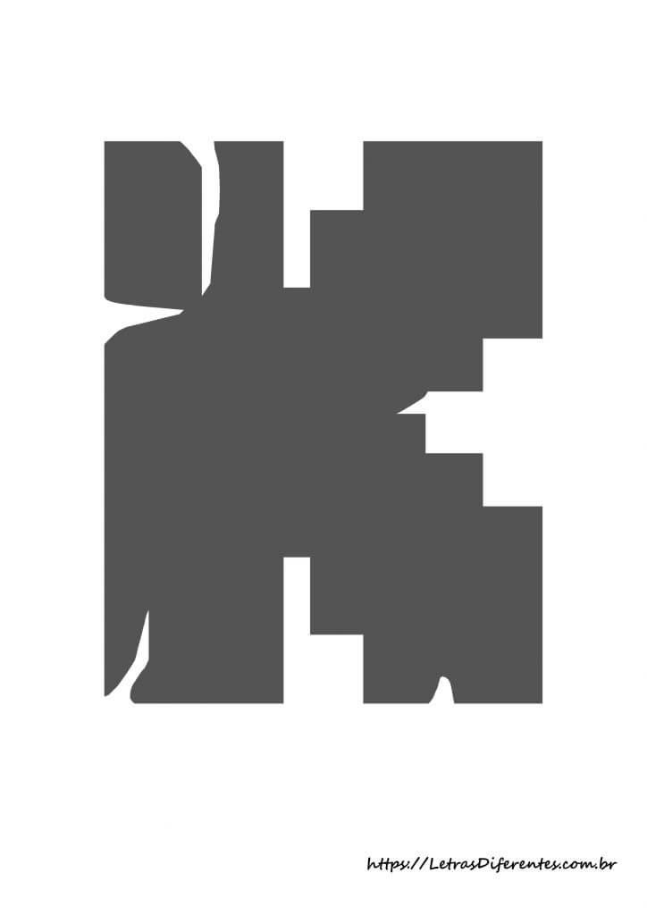 alfabeto letras k minecraft para imprimir (12)
