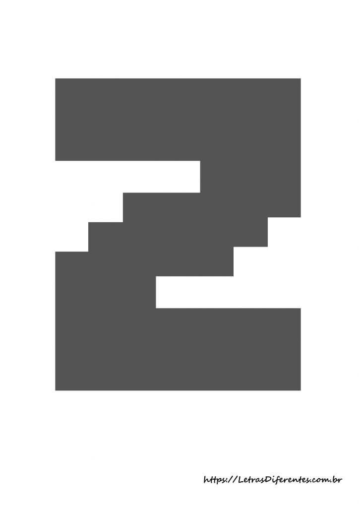 alfabeto letras z minecraft para imprimir (1)
