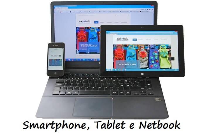 Aprenda a diferença entre Smartphone, Tablet e Netbook