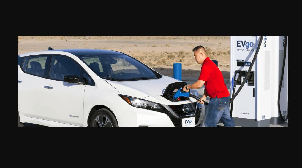 A Nissan Energy Perks da EVgo concede créditos aos compradores do Leaf