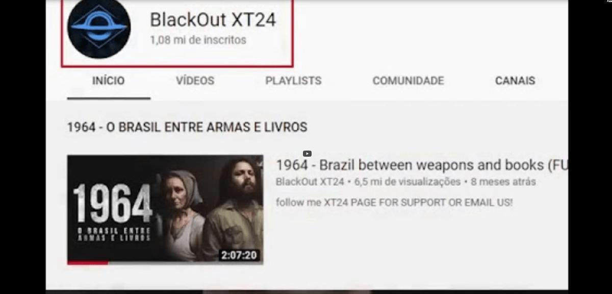 Canal do Brasil Paralelo é hackeado