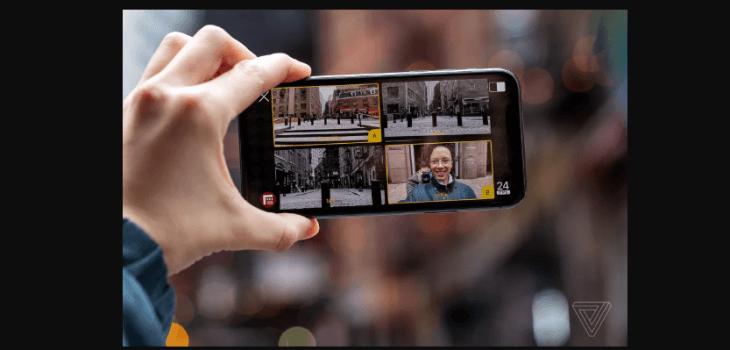 O Filmic DoubleTake permite gravar a partir de duas câmeras do iPhone ao mesmo tempo